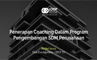 Penerapan Coaching Dalam Program Pengembangan SDM Perusahaan