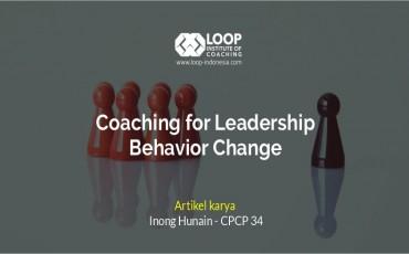Coaching untuk pengembangan pemimpin
